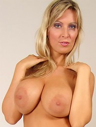 Milly Morris reveals her big melons and super...